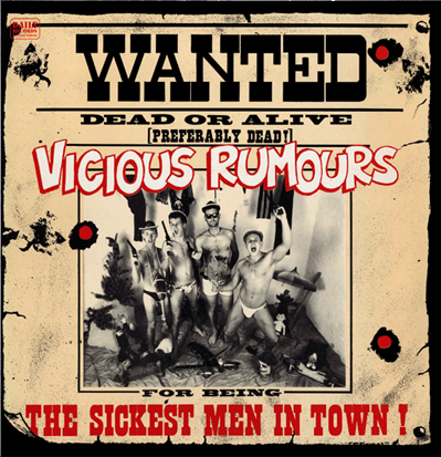 "Vicious Rumours ""The Sickest Men In Town"" (Vinilo rojo)"
