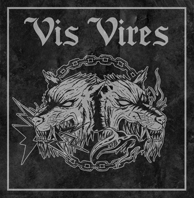 "CPR038-Vis Vires/Ultra Sect ""Split"" (Purple/black splatter)"
